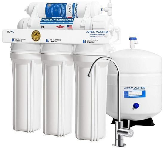 APEC Water Systems RO-90 Ultimate Reverse Osmosis Water Filter