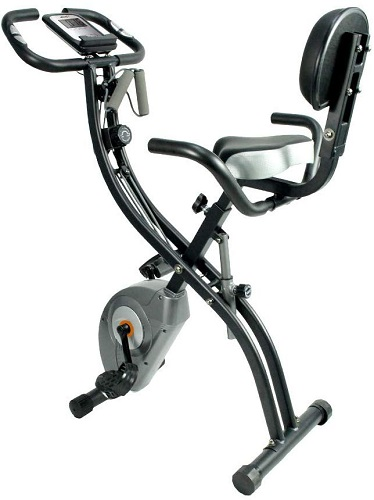 ATIVAFIT Folding Stationary Exercise Bike